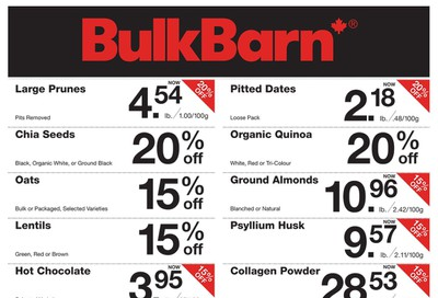 Bulk Barn Flyer January 2 to 8