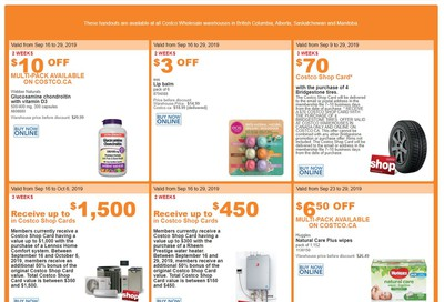 Costco (BC, AB, SK and MB) Weekly Savings September 23 to 29