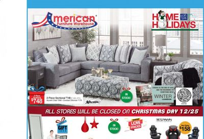 American Furniture Warehouse (AZ) Weekly Ad Flyer December 20 to December 26