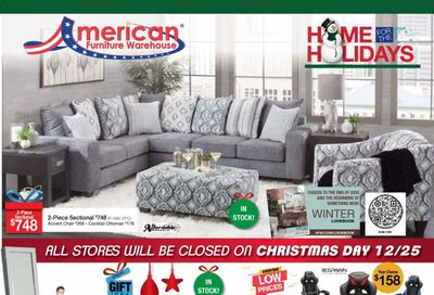 American Furniture Warehouse (TX) Weekly Ad Flyer December 20 to December 26
