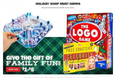 Five Below Weekly Ad Flyer December 21 to December 28