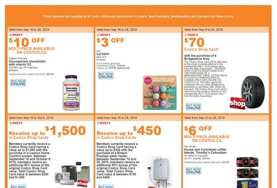 Costco (ON & Atlantic Canada) Weekly Savings September 23 to 29