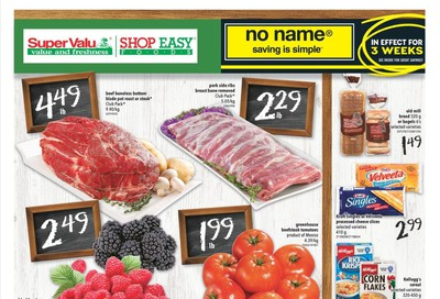 Shop Easy & SuperValu Flyer January 3 to 9