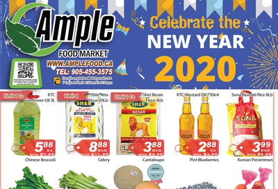 Ample Food Market Flyer January 3 to 9