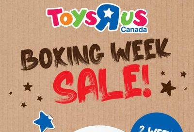 Toys R Us Boxing Day/Week Flyer December 22 to January 6
