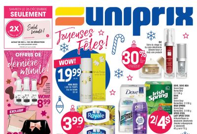 Uniprix Flyer December 24 to 30