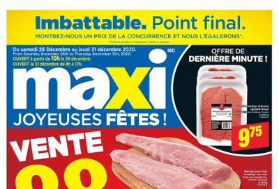 Maxi & Cie Flyer December 26 to 31