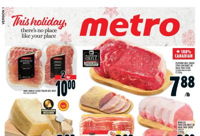 Metro (ON) Flyer December 26 to 31