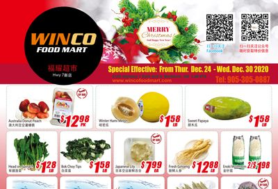 WinCo Food Mart (HWY 7) Flyer December 24 to 30