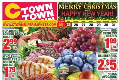 C-Town Weekly Ad Flyer December 25 to December 31