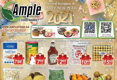 Ample Food Market Flyer December 26 to 31