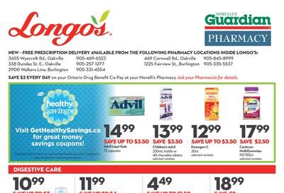 Longo's Pharmacy Flyer September 25 to October 29