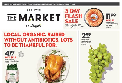 The Market by Longo's Flyer September 25 to October 1