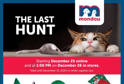 Mondou Flyer December 25 to 31