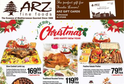 Arz Fine Foods Flyer December 25 to January 6