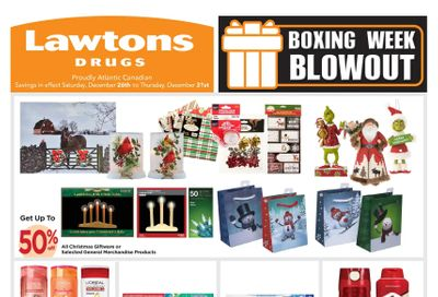 Lawtons Drugs Flyer December 26 to 31