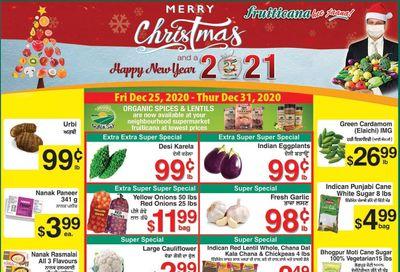 Fruiticana (Edmonton) Flyer December 25 to 31