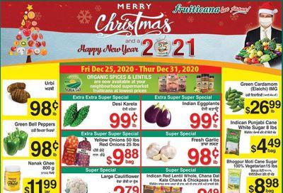 Fruiticana (Calgary) Flyer December 25 to 31