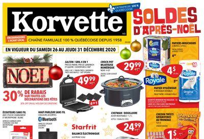 Korvette Flyer December 26 to 31
