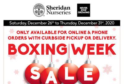 Sheridan Nurseries Flyer December 26 to 31