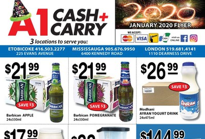 A-1 Cash and Carry Flyer January 1 to 31