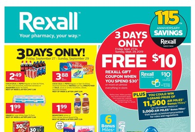 Rexall (ON) Flyer September 27 to October 3