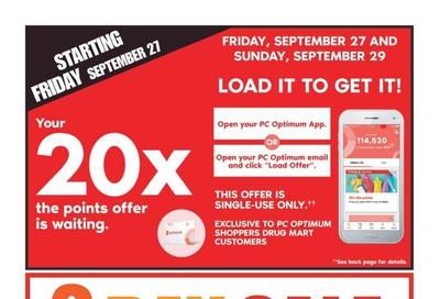 Shoppers Drug Mart (ON) Flyer September 28 to October 4
