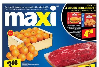 Maxi & Cie Flyer January 9 to 15