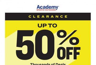 Academy Sports Weekly Ad Flyer December 26 to January 3