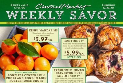 Central Market (TX) Weekly Ad Flyer December 26 to December 29
