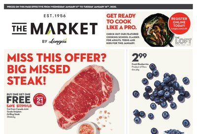 The Market by Longo's Flyer January 8 to 14