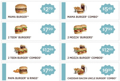 A&W Canada Coupons Valid Until November 17