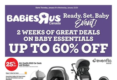 Babies R Us Flyer January 9 to 22