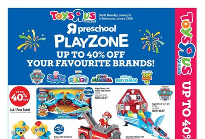 Toys R Us Flyer January 9 to 22