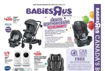 Babies R Us Flyer September 26 to October 2