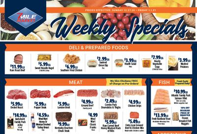 7 Mile Market Weekly Ad Flyer December 27, 2020 to January 1, 2021