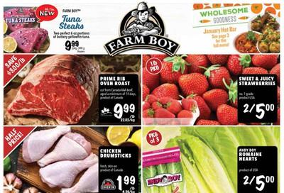 Farm Boy Flyer January 9 to 15