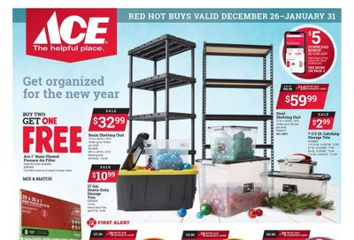 ACE Hardware Weekly Ad Flyer December 26 to January 31
