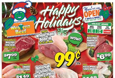 Western Beef Weekly Ad Flyer December 23 to December 29