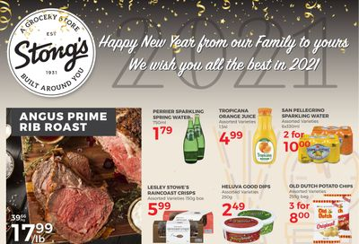 Stong's Market Flyer December 27 to 31