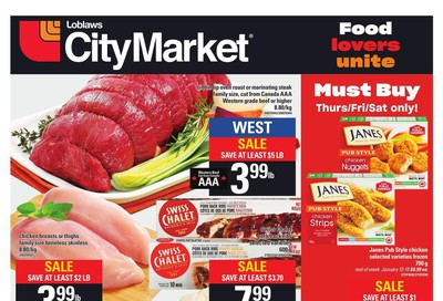 Loblaws City Market (West) Flyer January 9 to 15