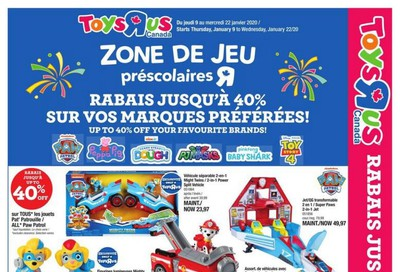 Toys R Us (QC) Flyer January 9 to 15