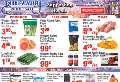 Bulkley Valley Wholesale Flyer January 8 to 14