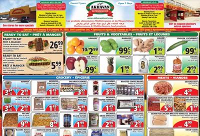 Akhavan Supermarche Flyer January 8 to 14