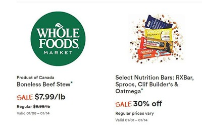Whole Foods Market (ON) Flyer January 8 to 14