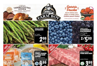 Farm Boy Flyer September 26 to October 2