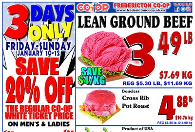 Fredericton Co-op Flyer January 9 to 15
