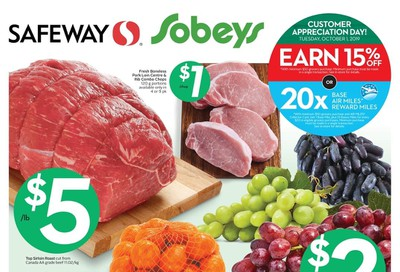 Sobeys (West) Flyer September 26 to October 2