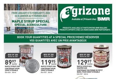 BMR Agrizone Flyer January 8 to February 9