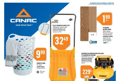 Canac Flyer January 9 to 15